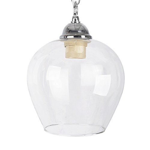 Classic style clear glass bell dome ceiling lamp pendant light shade classic style clear glass bell dome ceiling lamp pendant light shade minisun http aloadofball Gallery