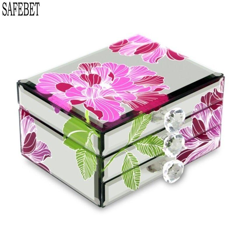 Knight Glass Jewelry Ring Storage Box Luxury Home Decorating Container Jewelry Perfume Storage Bins Organizers Birthd With Images Perfume Storage Ring Storage Bracelet Box