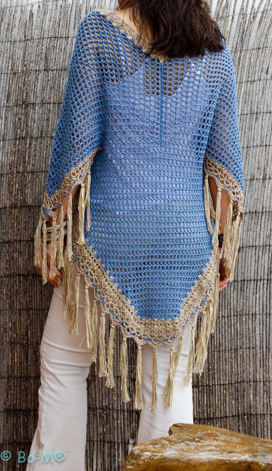 Kimono Taupe | Crochê fashion, Camisola de crochet