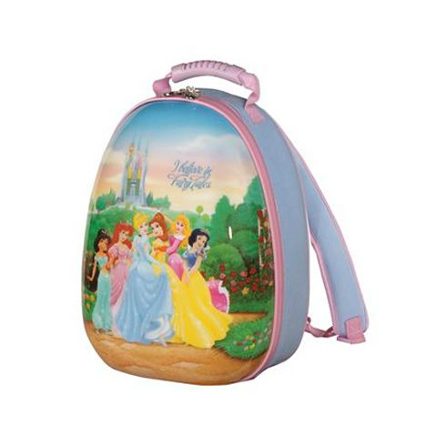 Heys Disney Princess Fairy Tales Hybrid Backpack Disney Luggage Kids Luggage Princess Backpack