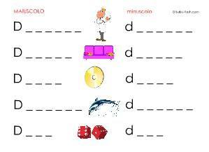 Schede didattiche di parole - Baby-flash | Schede ...