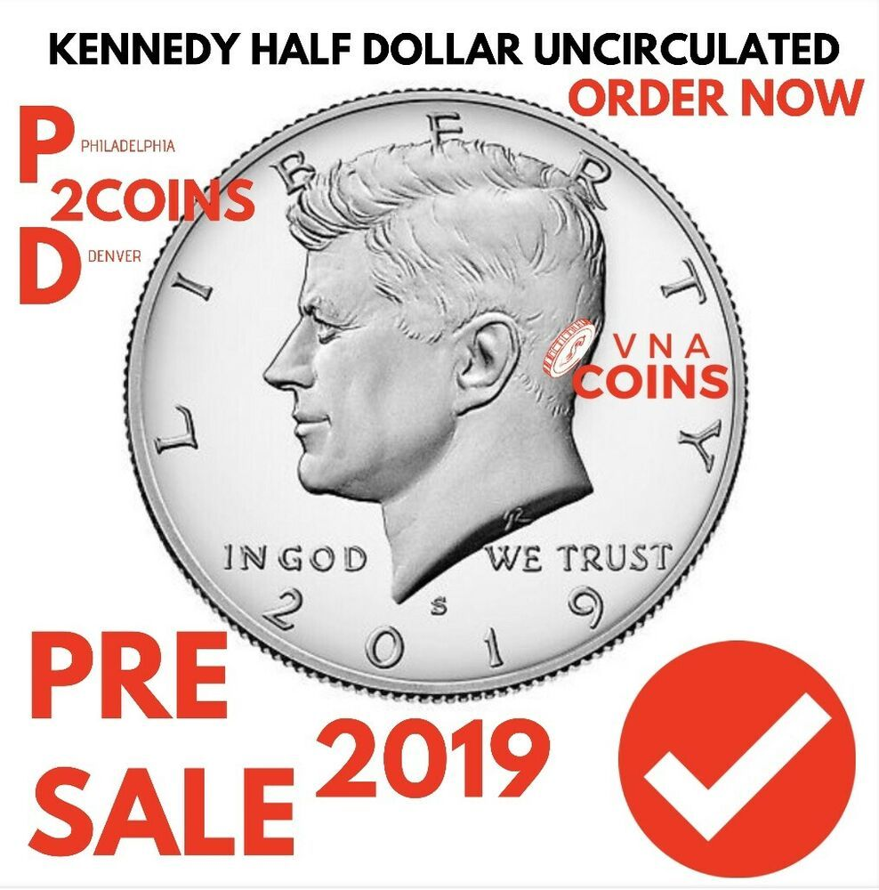 One 2019 S GEM Proof Clad Kennedy Half Dollar Still in Goverment Plastic