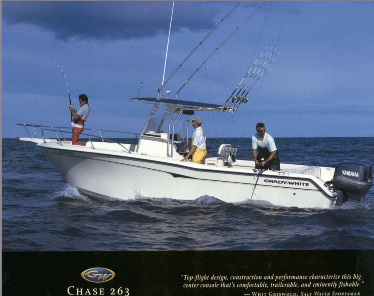 Grady White 263 Chase Center Console Boat Center Console Console