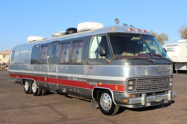 1990 Airstream 350le Class A Rv Class A Rv Campers World Vintage Rv