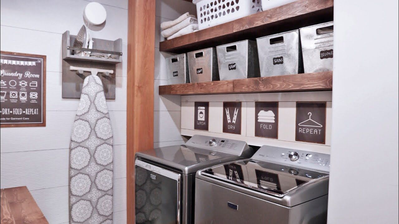 Laundry Done - YouTube in 17  Laundry room diy, Perfect laundry