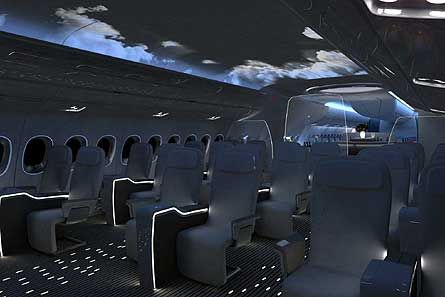 BMW and Airbus work together to create luxury aircraft interior