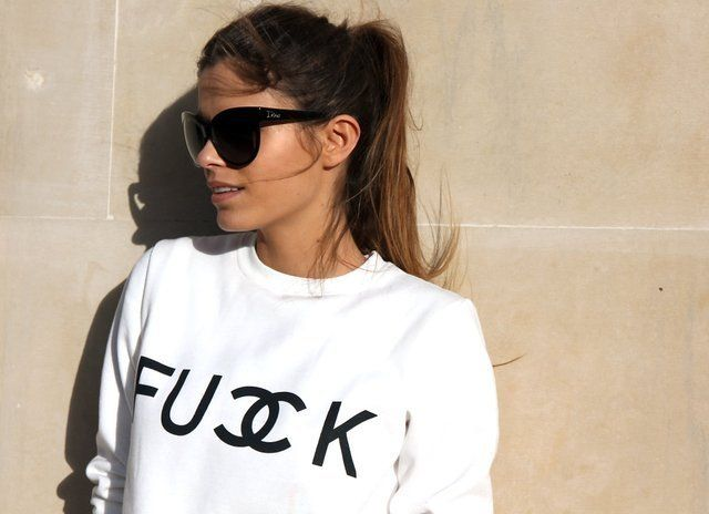 Fancy - FU Double CK Sweatshirt
