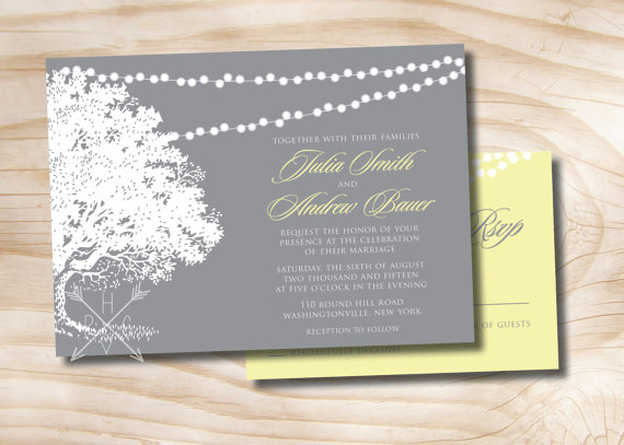 Professionally Printed Invitations