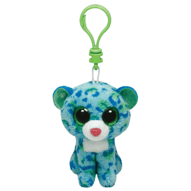 Leona The Blue Amp Green Leopard Clip Gift Ideas For The