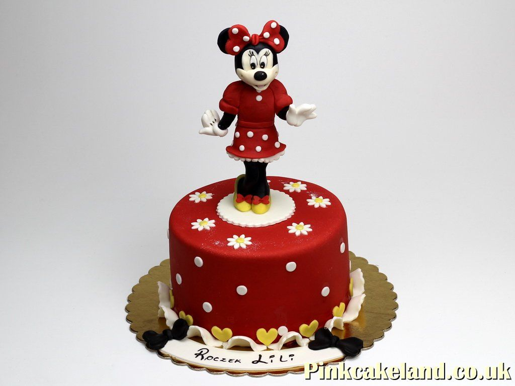 Minnie Mouse Birthday Cake For Girl Chelsea Httppinkcakeland