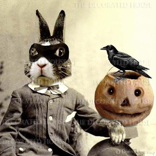 Printable Halloween Decorations HALLOWEEN Decoration Art Print - print halloween decorations