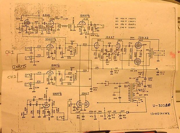 Univox Wiring Diagrams   Wiring Diagram on proco rat schematic, super octave schematic, univox amp head,