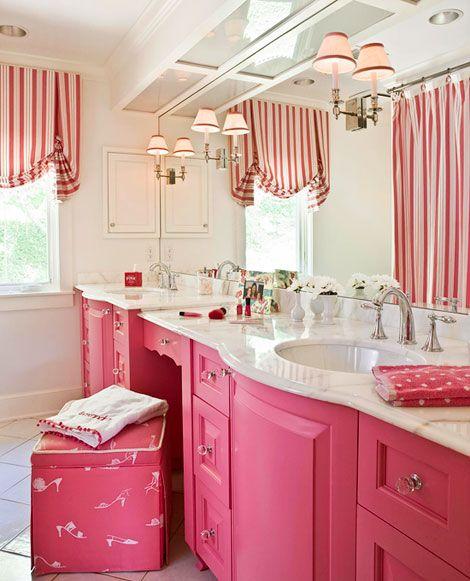 Decorating Bath Vanities Girl Bathrooms Girl Bathroom Decor Kid Bathroom Decor