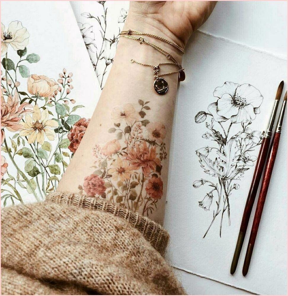 Henna Tattoo Farbe