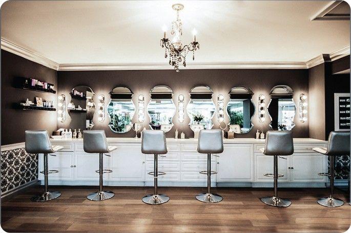 Lashfully lash bar i want something similar for my makeup station my castle makeup studio - Bar salon design ...
