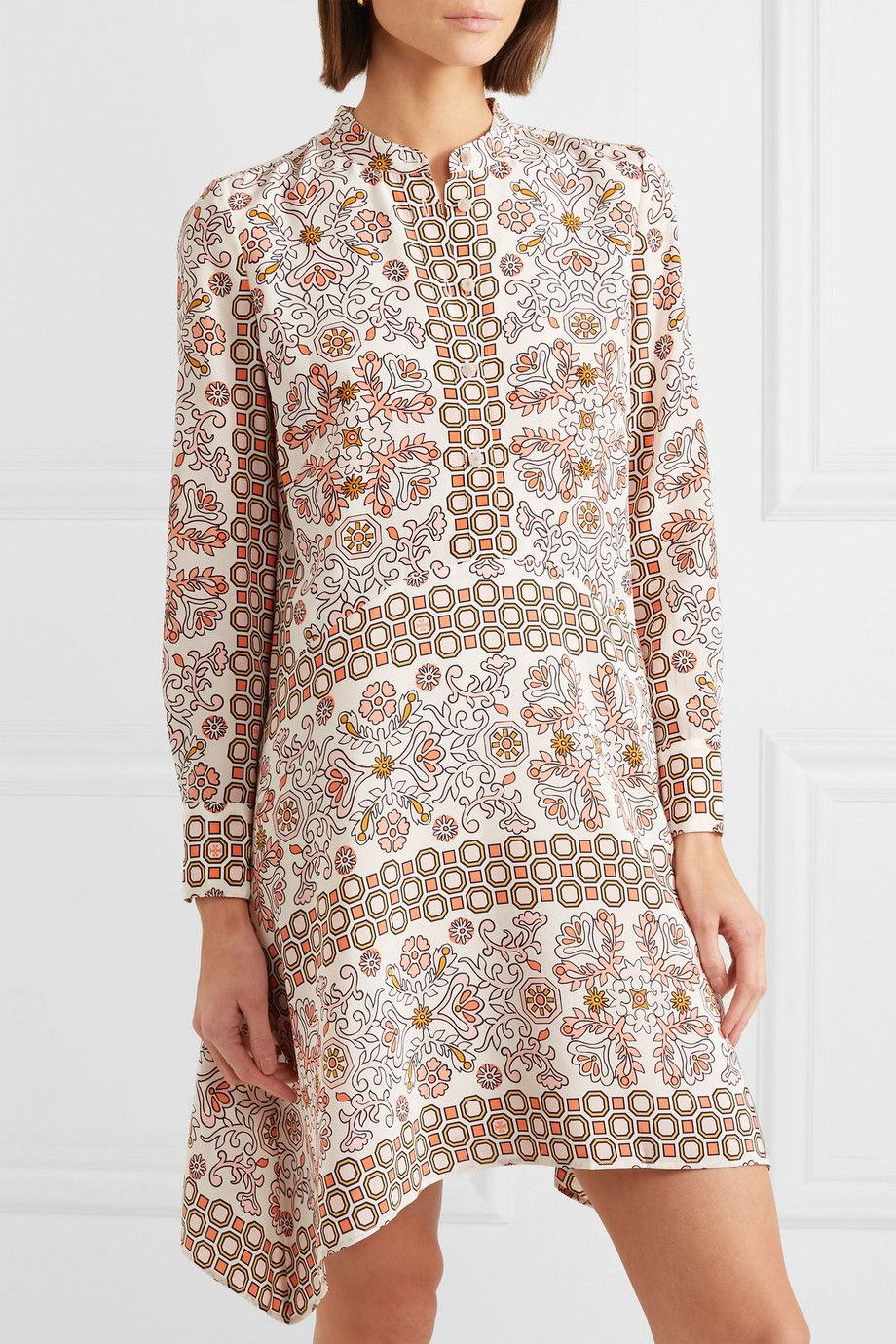 43cfe261236 Tory Burch - Celeste printed silk mini dress