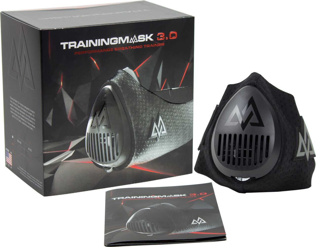 Elevation Training Mask 3 0 Blackout All Sizes Mma Fitness High Altitude Fitness Training Train Total Workout