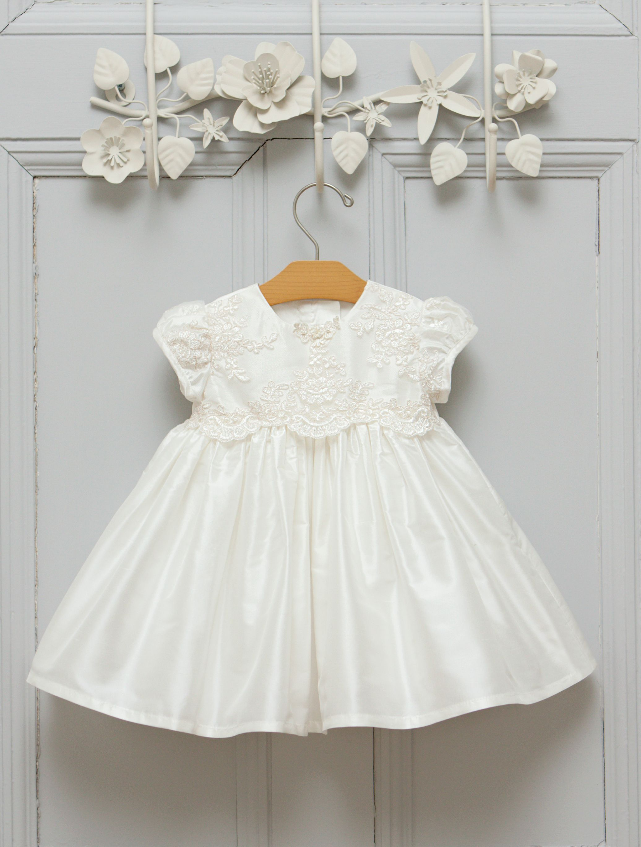 26ccabae11a Beautiful little Christening dress made from silk and lace ♥  #christeningdress #baptismdress #babydress #christening #baptism