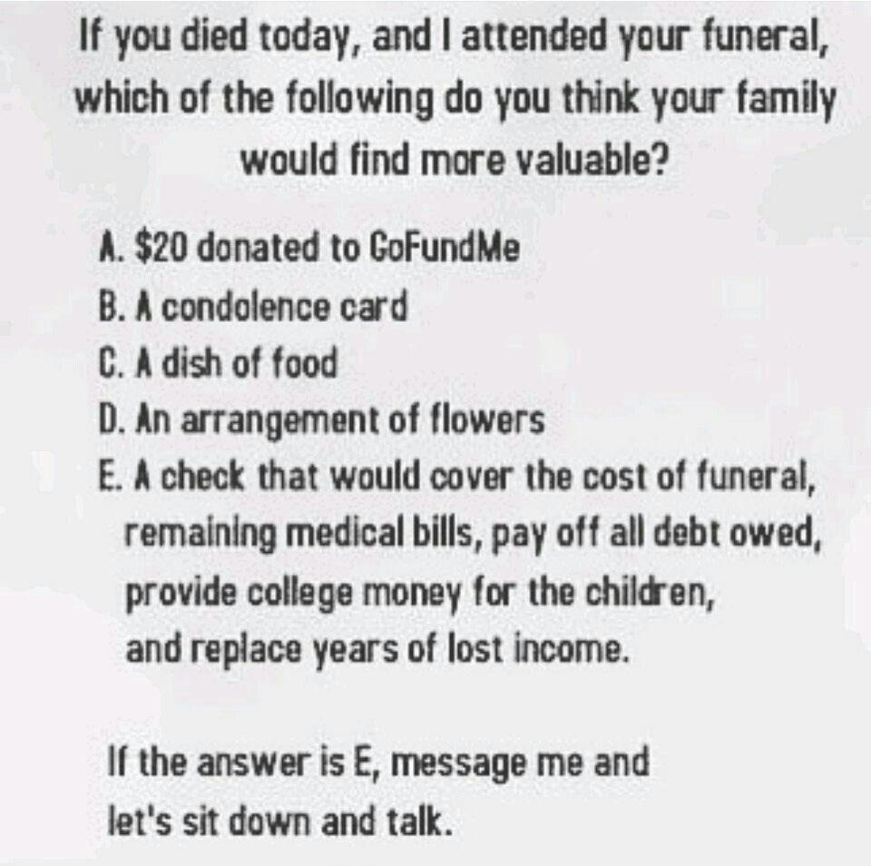 Condolence card, Condolences, Go fund me