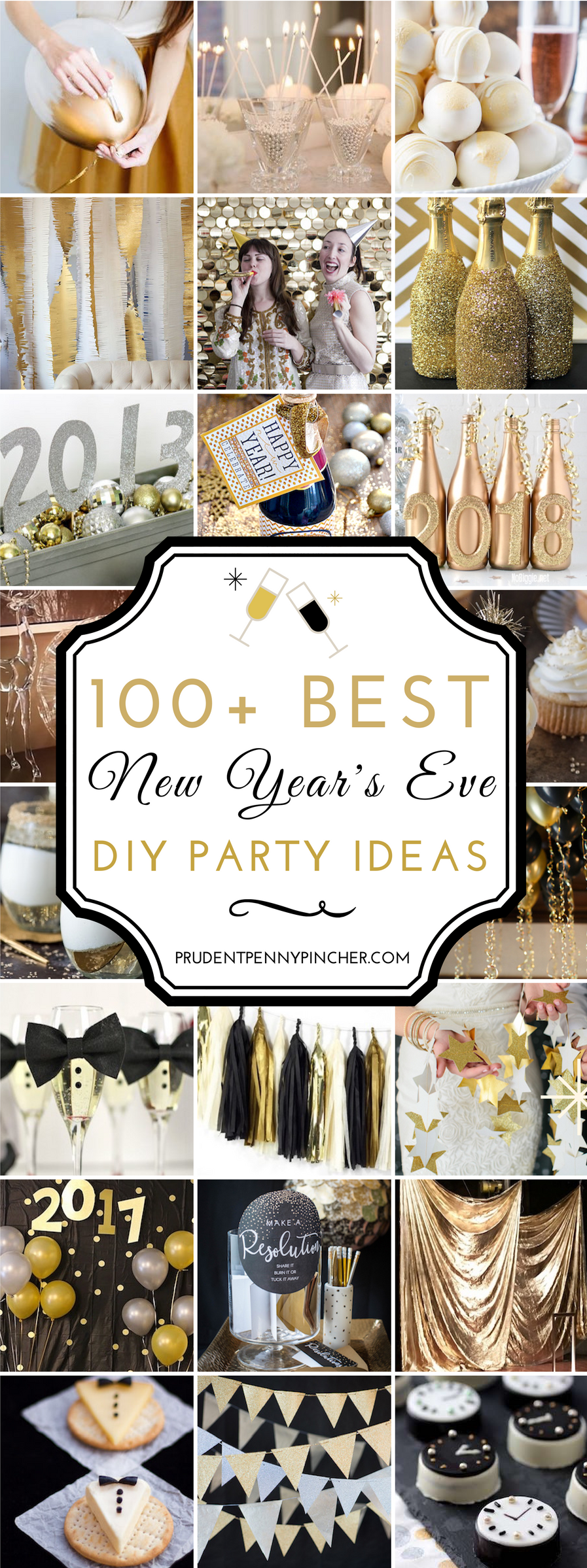100 Best New Year\'s Eve Party Ideas | Nye, Holidays and Frugal living