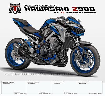 TT BIGBIKE DESIGN: KAWASAKI Z900 DESIGN CONCEPT #1