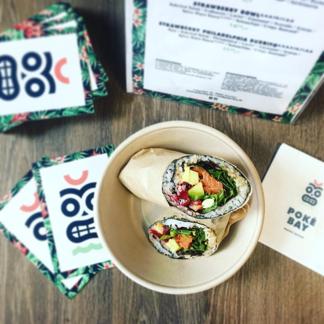 Sushi Burrito at Poke Bay Munich | München | Pinterest | Munich