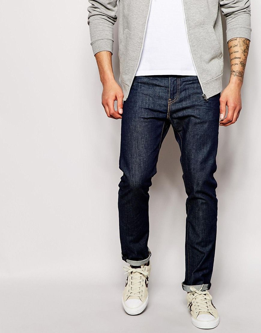 Image 1 of Levis Jeans 510 Skinny Fit Broken Raw Stretch