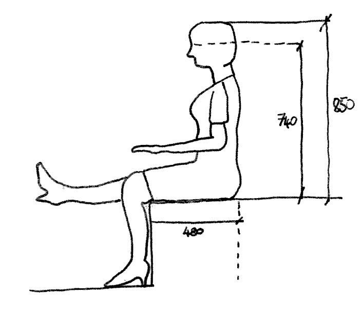 Image Result For How To Draw A Person Sitting On A Chair
