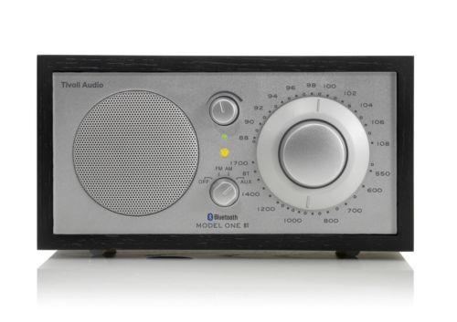 Portable AM FM Radios: Tivoli Audio Model One Bt Black Silver Am Fm Radio With Bluetooth Wireless Te... -> BUY IT NOW ONLY: $179.99 on eBay!
