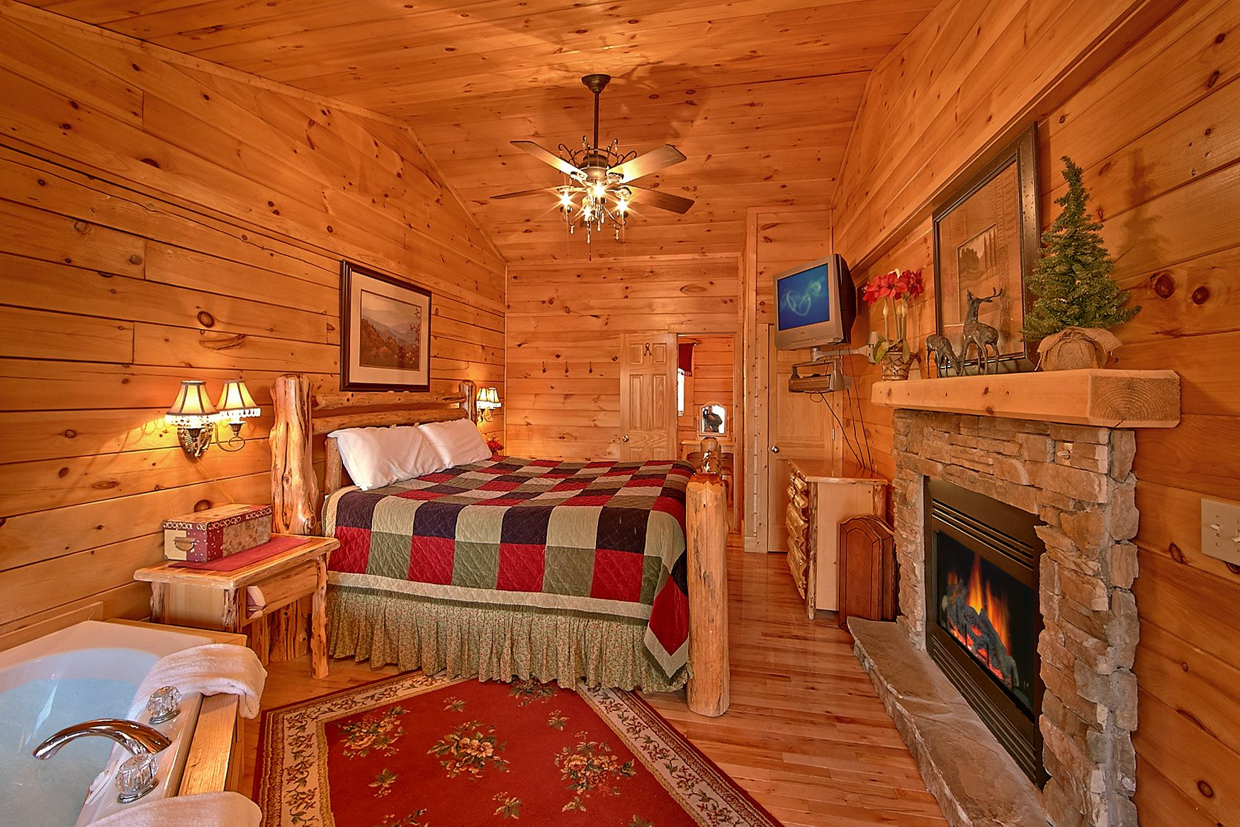 mountain the in tn smoky cabins luxury mountains