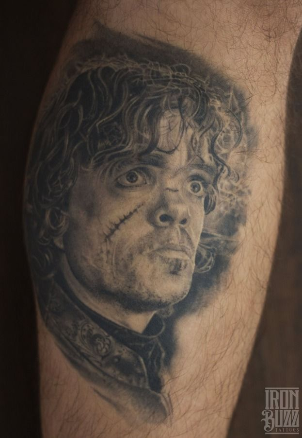 111d83dbe REALISTIC TYRION LANNISTER (GAME OF THRONES) PORTRAIT TATTOO  #tyrionlannister #gameofthrones #gameofthronesart #peterdinklage  #lannisters #nedstark ...