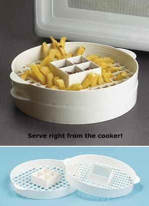 6 Microwave French Fry Maker