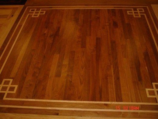 Home Improvements Hardwood Flooring Decorative Designs And