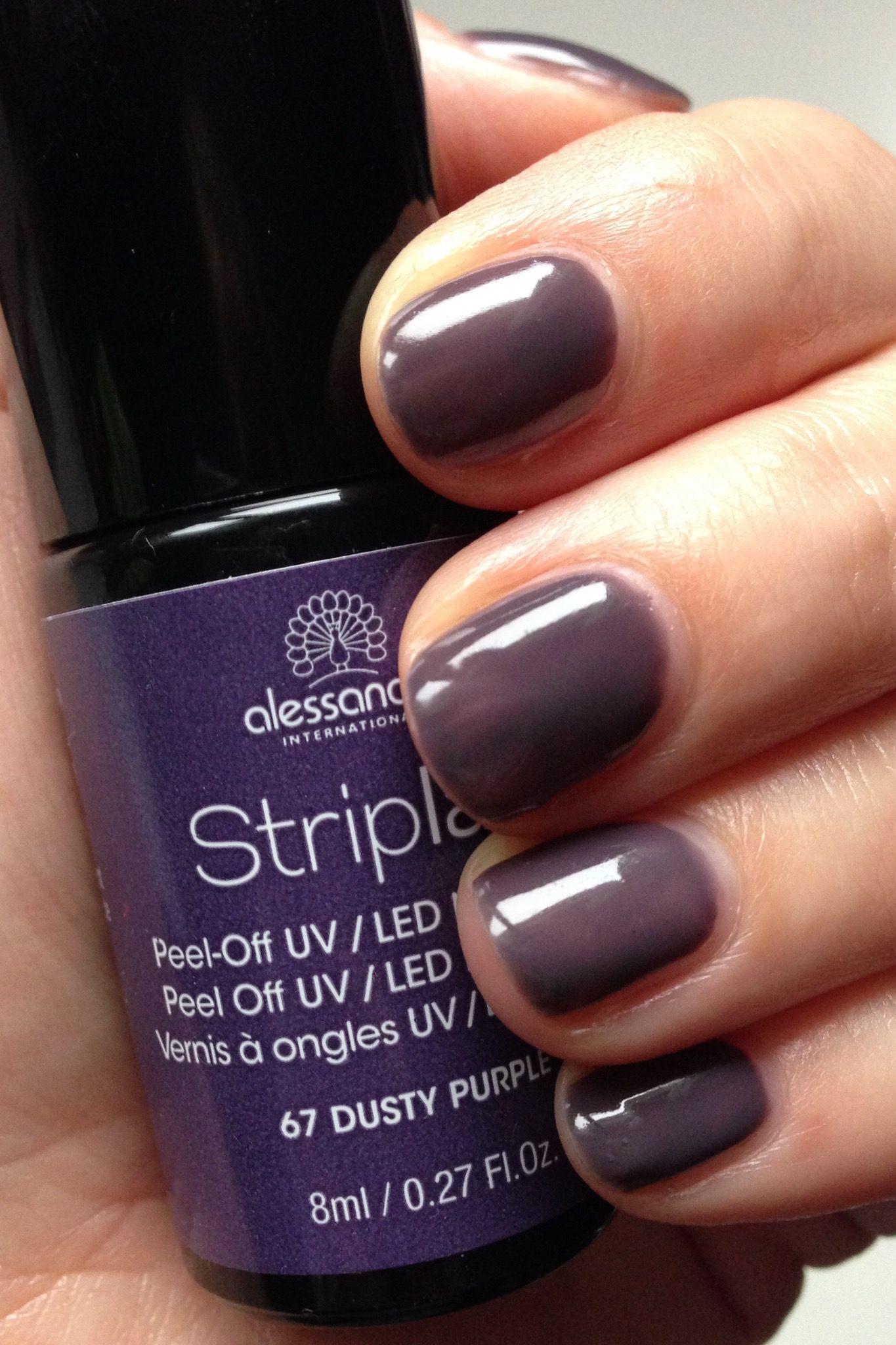 Striplac Dusty Purple | 指甲 | Pinterest | Striplac, Striplac farben ...