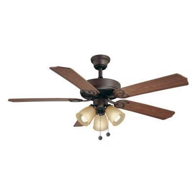 brookhurst 52 in indoor oil rubbed bronze ceiling fan yg268 orb rh pinterest cl