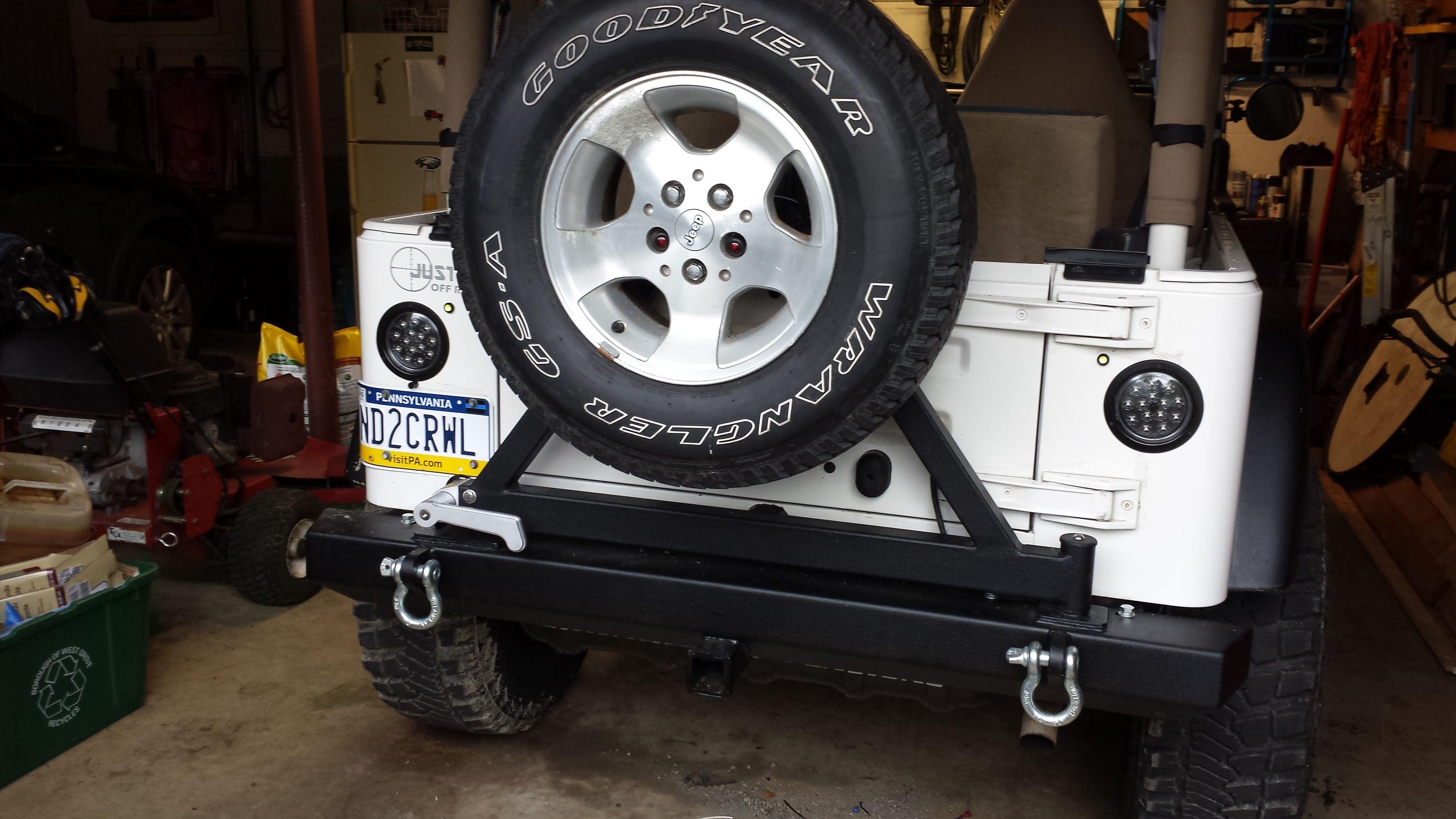 Jeep Tj Led Tail Lights Flush Mount Jeep Tj Jeep Tail Lights Jeep