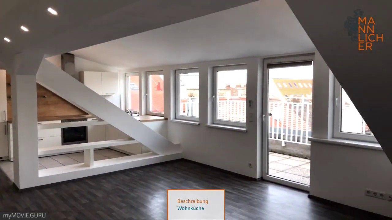 Moderne Dachgeschosswohnung 78 Qm Mit Terrasse In 1100 Wien Wohnung Wohnzimmer Dachgeschosswohnung
