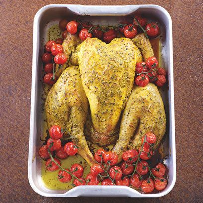 James Martin S Spatchcock Chicken Recipe Spatchcock Chicken James Martin Recipes Chicken Recipes