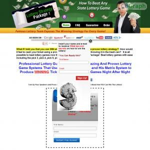 This Package Sells All 5 Of Our Top Lottery Courses For