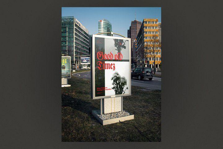 Mockup - Poster - Main Street (59700)   Mockups   Design Bundles