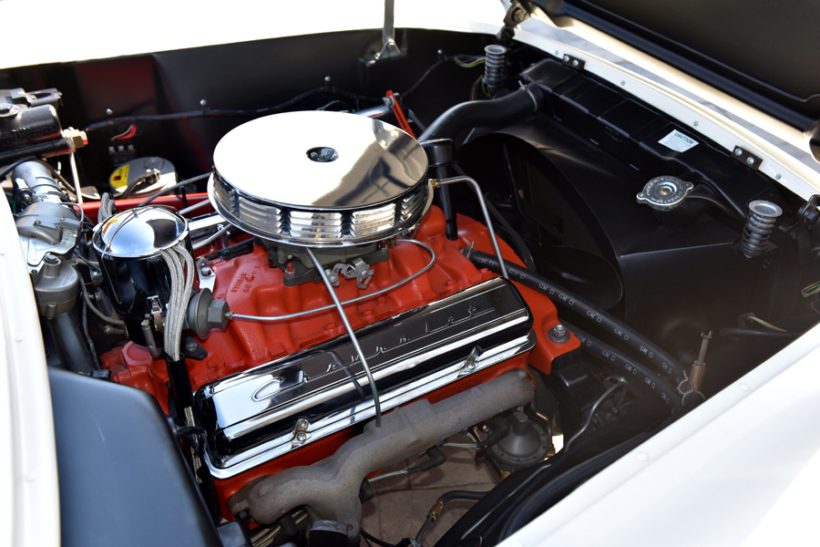 1955 Chevrolet Corvette 265 195 Convertible Engine 212422