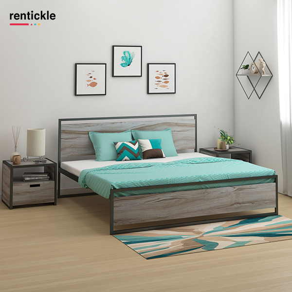 Here are 4 situations in which it makes perfect sense to rent a bed instead of buying one:  Read our blog to know more.  Thinking of Renting . Think of Rentickle . . . #furnituredecor #diwali #festiveoffer #furniturelovers #simplifyyourspace #livetrendy #interiordecor #furnitureonrent #rentfurniture #furniturerental #rentickle #newproduct #newarrival #bedroominterior #bedroominspo #colourfulhome #bedroomlighting #metalbed #metalbeds