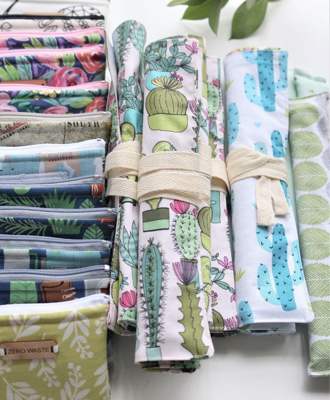 Zero Waste Utensils Sustaility Eco Friendly Home Goods Sachets Tools