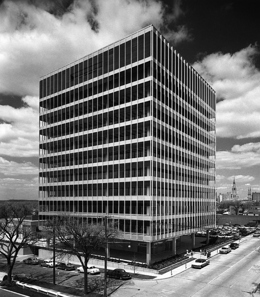 skidmore, owings & merrill… warren petroleum executive headquarters, tulsa 1957photos by ezra stoller