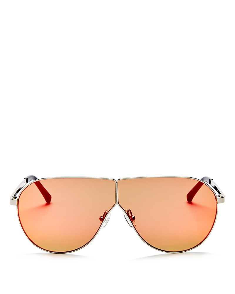 270.00$  Buy now - http://viwxf.justgood.pw/vig/item.php?t=k0do3d52325 - 3.1 Phillip Lim Mirrored Shield Sunglasses, 70mm