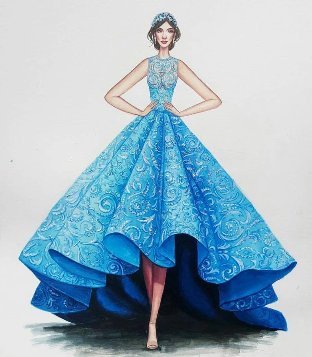 """MMM on Instagram: """"#illustration #designing #rampgarment #backfullness #inspiration #transparentillusion  #pairednudeheels #fashion #dress #ideas…"""""""