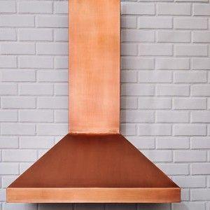 Modern Copper Vent Hood Copper Range Hood Copper Kitchen Hood