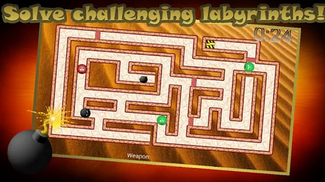 Bomber Ball Maze Android Game Free Download - Free Download