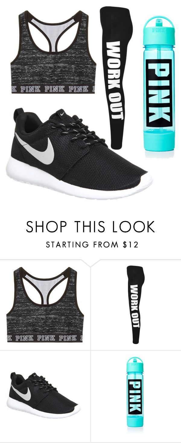 """work out"" by kissedbydeathbaby on Polyvore featuring interior, interiors, interior design, home, home decor, interior decorating, WearAll and NIKE"