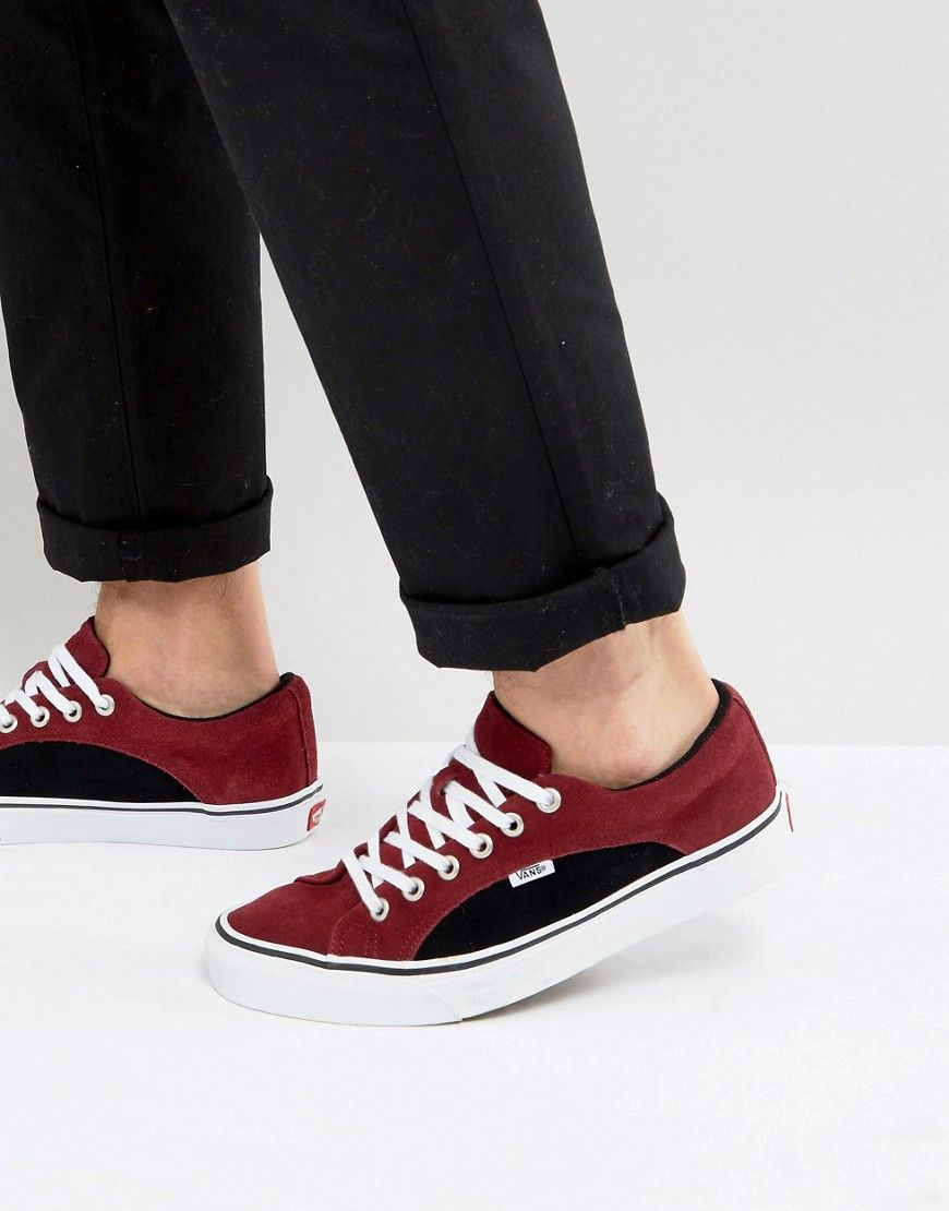 Get this Vans's sneakers now! Click for more details. Worldwide shipping.  Vans Lampin Trainers In Red VA38FIMVT - Red: Trainers by Vans, Supplier  code: ...